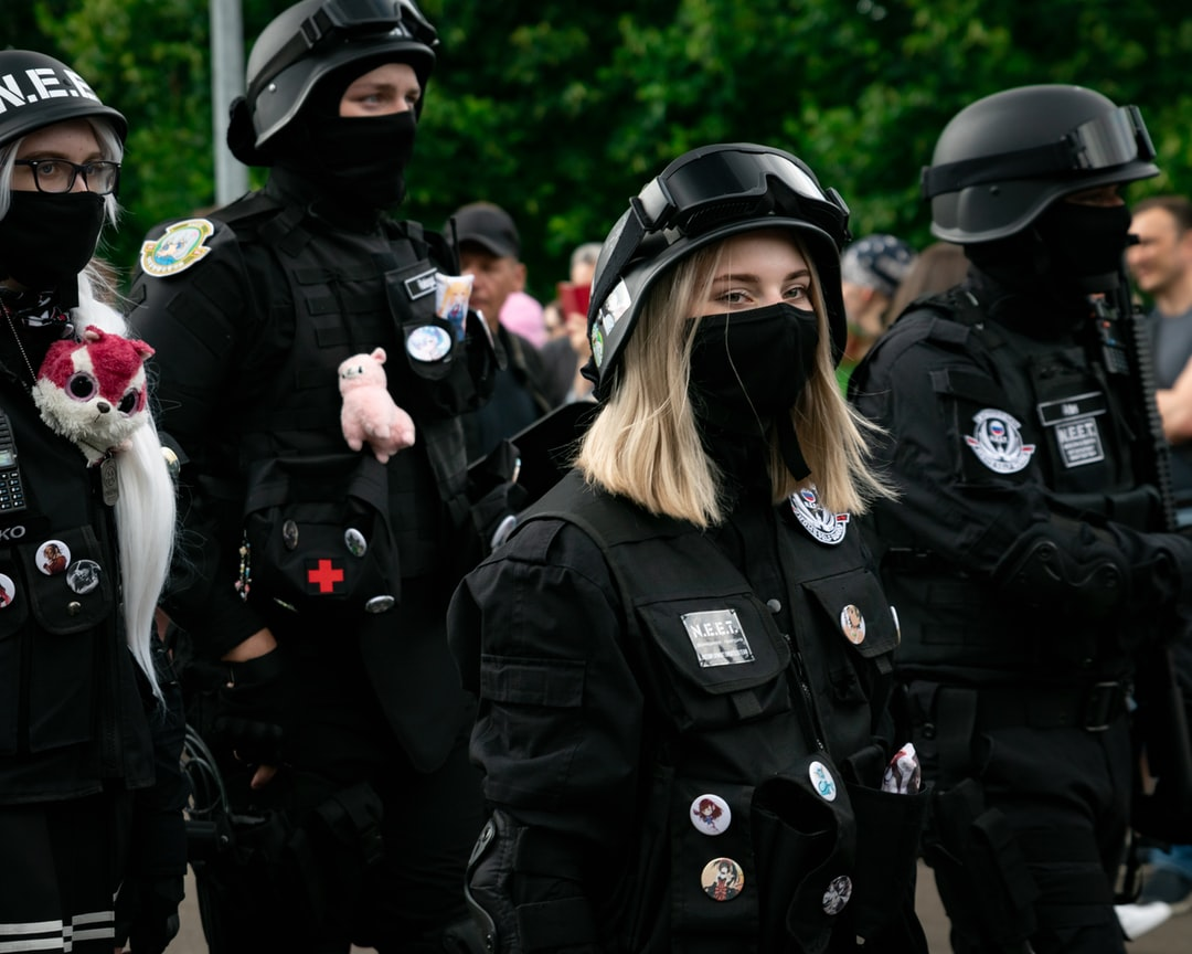 A group of people in uniform